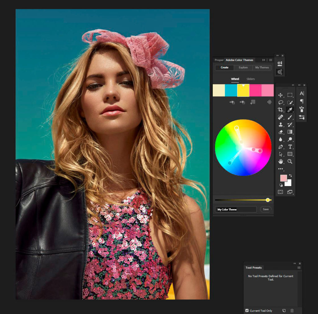 Personal Retouching Master Class - Boutique Retouching - color themes harpers bazaar