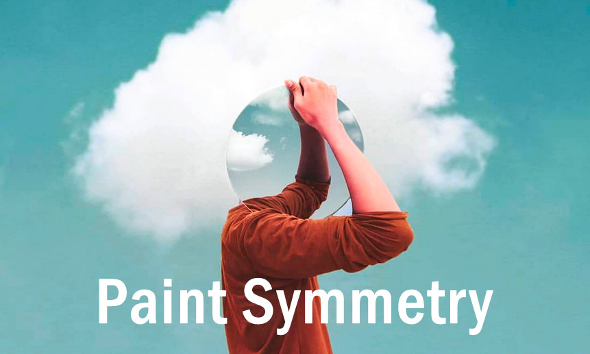 All Things Adobe Photoshop CC 2019 & New Features - Boutique Retouching - paint symmetry video