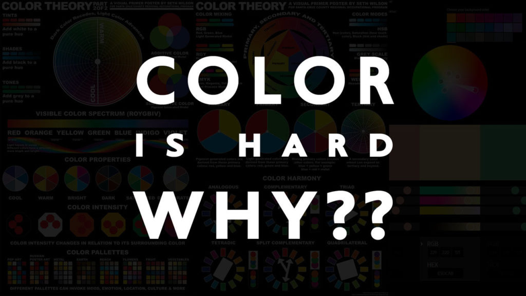 3 Reasons Why Color Corrections and Color Management Are Hard - Boutique Retouching - color is hard header image